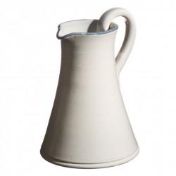 Pichet céramique Sud perle, Atelier Romain Bernex