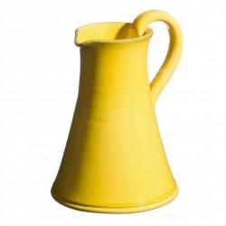 Pichet céramique Sud jaune, Atelier Romain Bernex