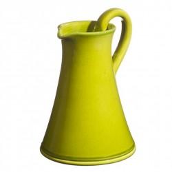 Pichet céramique Sud vert pomme, Atelier Romain Bernex