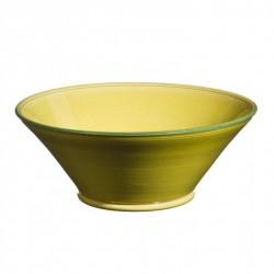 Saladier céramique Tian Sud pistache, Atelier Romain Bernex