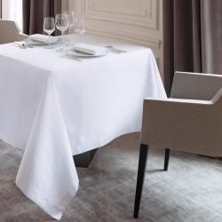 Nappe blanche coton Offre White Galuchat, Le Jacquard Français