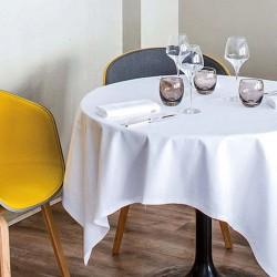 Serviettes de table coton blanc Offre White, Le Jacquard Français