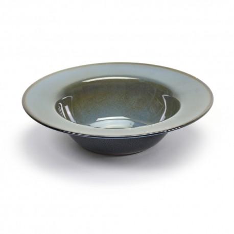 Assiette de dégustation S 21.3cm Terres de Rêves Blue grey/Dark blue, vaisselle design Serax par Anita Le Grelle