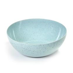 Saladier design en grès émaillé 27 cm Terres de rêves Light blue, Anita Le Grelle