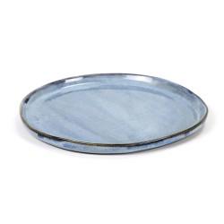 Assiette ronde S 19cm Terres de rêves Blue, Anita Le Grelle