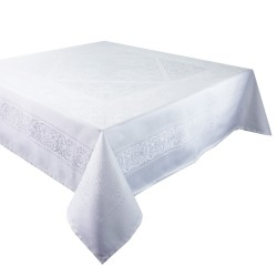 Nappe anti tache Alexandrine blanc Neige, Garnier-Thiébaut
