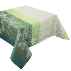 Tissu nappes au metre Mille Automnes Mousse en 185cm, Garnier-Thiébaut