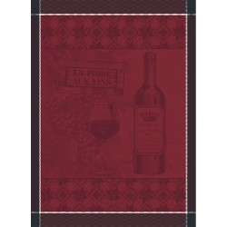 Torchons Foire aux vins Bordeaux, Garnier-Thiébaut (par 4)
