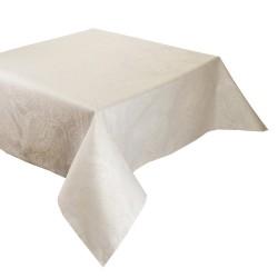 Tissu enduit Mille Isaphire Parchemin, laize 180cm, Garnier-Thiébaut