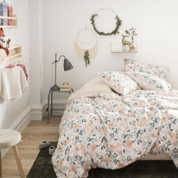Parure de lit percale de coton Fabuleuse, Essix