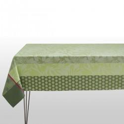 Tissu enduit Nature Urbaine Gazon, Laize 180cm, Le Jacquard Français