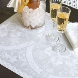 Set de table Duchesse Blanc, Le Jacquard Français