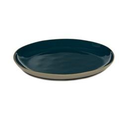 Assiettes en grès bleu 28 cm RUR:AL, Serax par Anita Le Grelle
