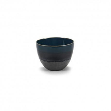 Bol à thé en grès bleu RUR:AL, Serax par Anita Le Grelle