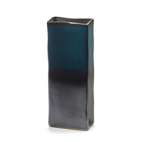 Vase design céramique RUR:AL Bleu H28.5cm Anita Le Grelle, Serax