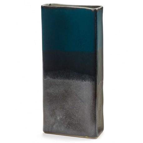 Vase design céramique RUR:AL Bleu H34cm Anita Le Grelle, Serax