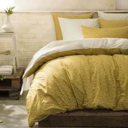 Parure de lit percale de coton Toi et Moi Sahara, Essix