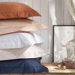 Parure de lit haut de gamme en percale de coton unie Royal Line, Essix