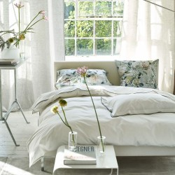 Parure de lit en percale de coton Astor Forest and Sage, Designers Guild