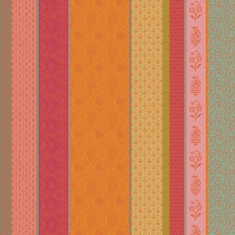 Tissu nappes au metre Mille Saris Pendjab, Garnier-Thiébaut