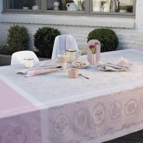 Nappe anti tache Lysandra Rose, Garnier-Thiébaut