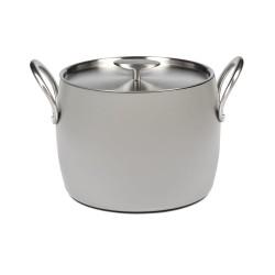 Batterie de cuisine induction - Marmite haute D22cm anti adhésive Pure Cookware Stone grey, Pascale Naessens Serax