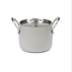 Serax - Marmite D18cm anti adhésive induction Pure Cookware Stone grey, Pascale Naessens