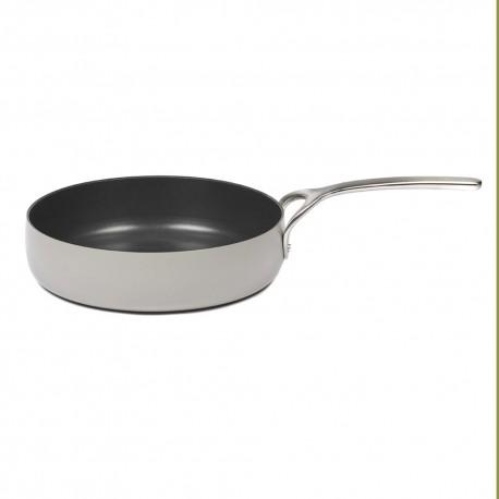 Batterie de cuisine induction - Poêle D28cm anti adhésive Pure Cookware Stone grey, Pascale Naessens Serax