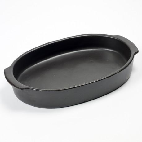 Serax - Plat four en céramique 37x26 Pure, Pascale Naessens