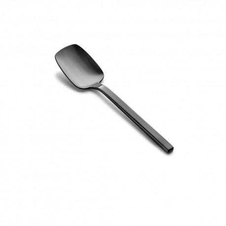 Cuillère à café inox 3.5mm 18/10 HEII Anthracite Marcel Wolterinck, Serax