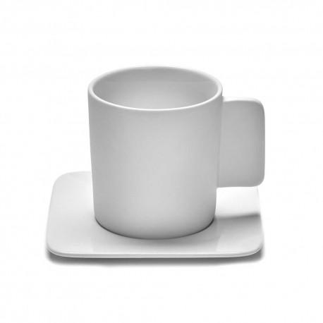 Mugs et sous-tasses porcelaine 30cl HEII, Marcel Wolterinck - Serax