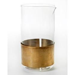 Carafe en verre et cuivre 93cl Niels Datema - Serax