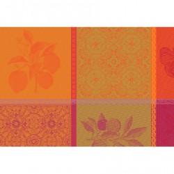 Set de table design enduit Mille Tutti Frutti Sangria, Garnier-Thiébaut