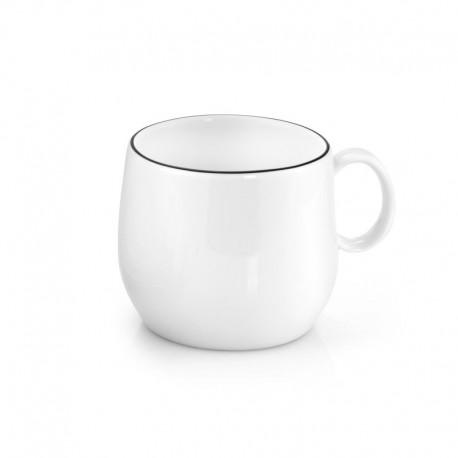 Médard de Noblat - Tasse café & thé 20cl porcelaine Yaka Noir