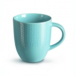 Médard de Noblat - Mug 32cl grès Grain de Malice Turquoise