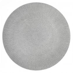 Médard de Noblat - Assiette plate 27cm grès Stone Gris clair