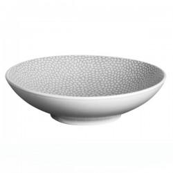 Médard de Noblat - Coffret de 6 assiettes pasta 19cm grès Stone Gris clair