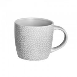 Médard de Noblat - Tasse à café ou thé 28cl grès Stone Gris clair