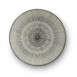 Médard de Noblat - Assiettes dessert 20cm grès Hypnose