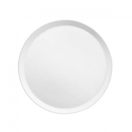 Médard de Noblat - Assiette dessert 21.5cm porcelaine Yaka Blanc