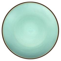 Médard de Noblat - Assiette plate grès Feeling Jade