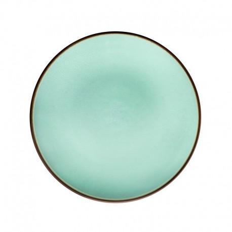 Médard de Noblat - Assiette dessert grès Feeling Jade
