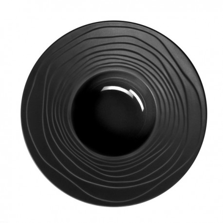 Médard de Noblat - Assiette pasta 28cm grès Escale Noir