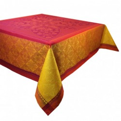 Nappe anti tache Palerme Orange Sanguine, Garnier-Thiébaut