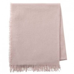 Plaid laine/soie/cachemire Loulou Rosée, Alexandre Turpault
