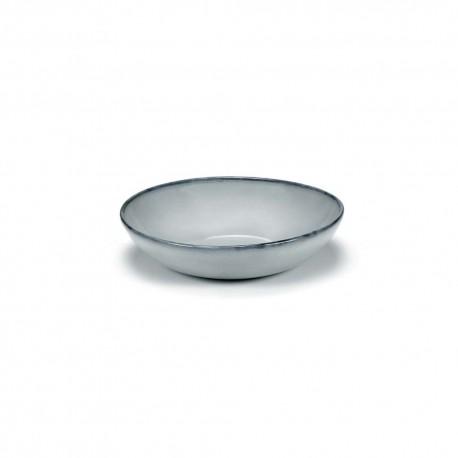 Assiette ceramique creuse 19.5cm Pure Bleu, Pascale Naessens Serax