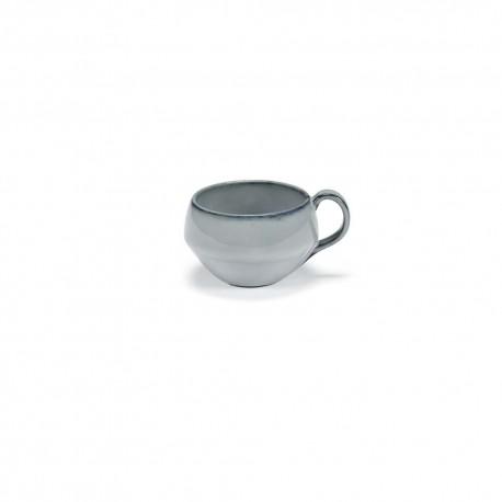 Tasse à petit déjeuner céramique 27cl Pure Bleu, Pascale Naessens