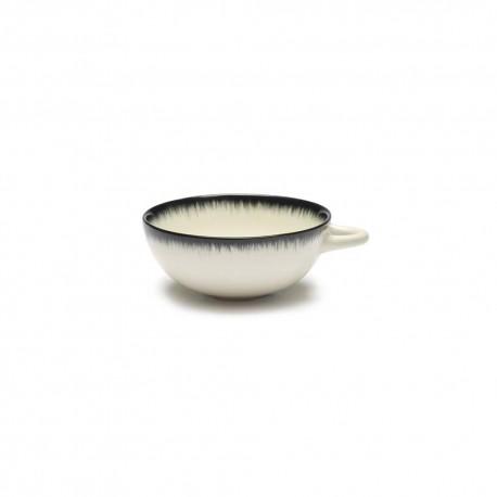 Tasse à café 8cl en porcelaine Blanc/Noir VA - Serax Dé Ann Demeulemeester