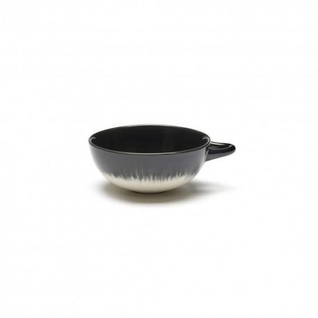 Tasse à café 8cl en porcelaine Blanc/Noir VB - Serax Dé Ann Demeulemeester