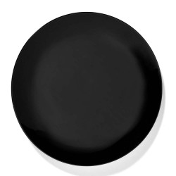 Assiettes porcelaine Serax Dé Ann Demeulemeester 28cm Noir